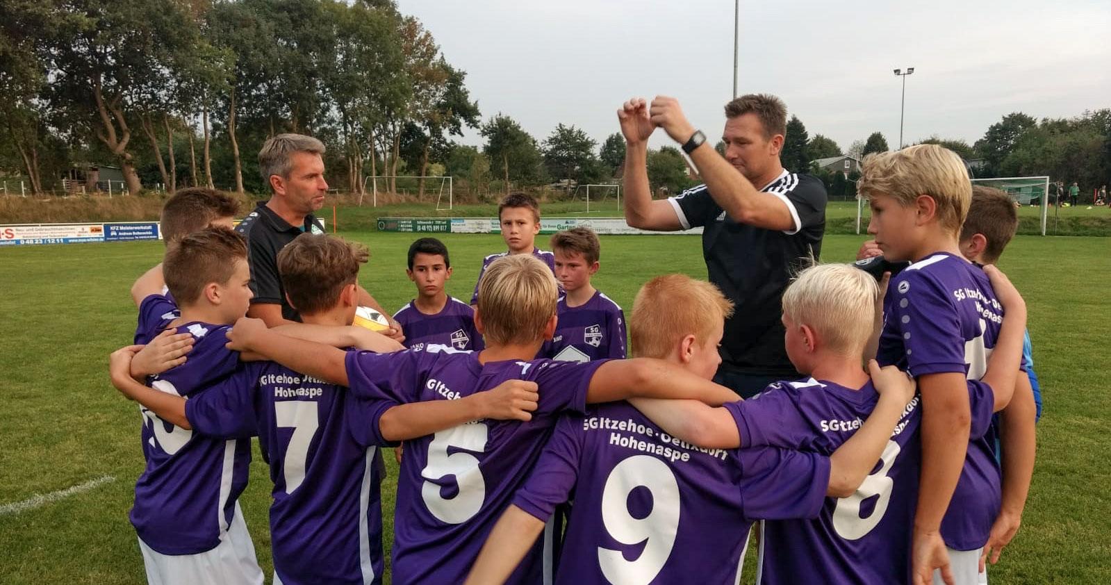 D-Jugend qualifiziert sich für Verbandsliga
