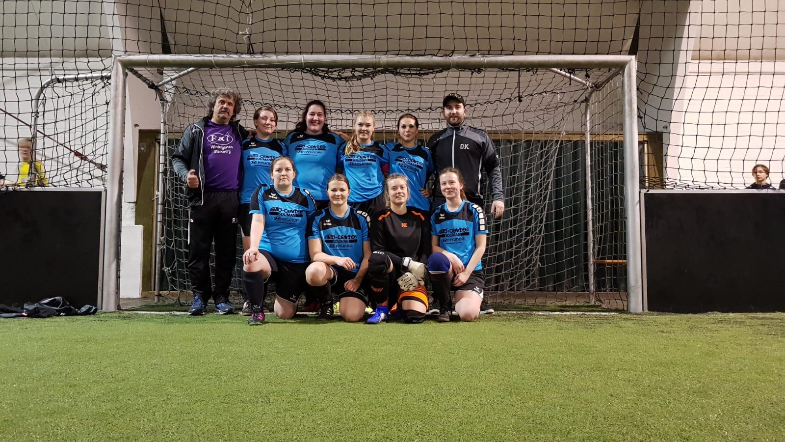 Frauen-Team beim Benefiz-Turnier